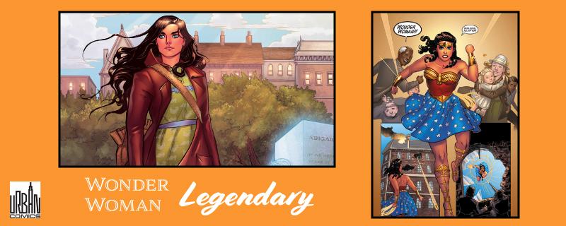 Banière Wonder Woman Legendary