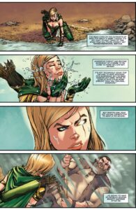 Fan(tastik) Comics : Robyn Hood, présentation planche