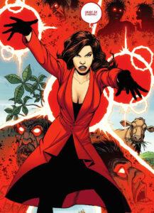 Fan(tastik) Comics #16 : Wanda la Sorcière Rouge - Wanda_Steve Dillon
