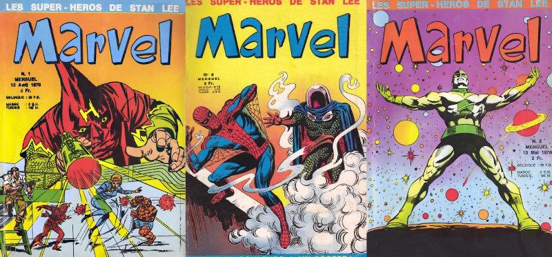 Marvel (Lug), de retour chez Panini