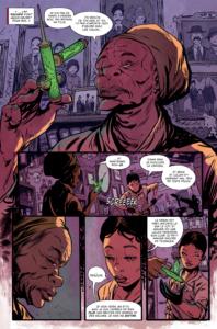 Fan(tastiK) Comics Bitter Root Ma Sangerye